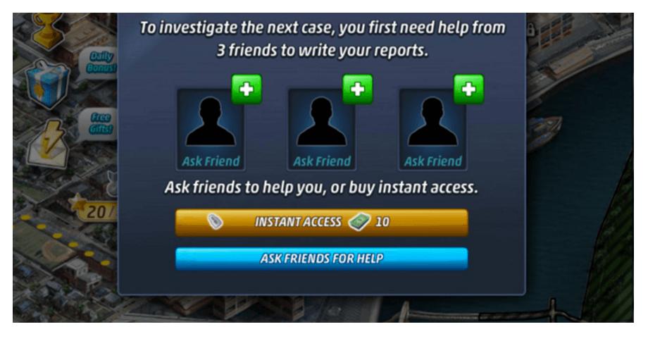 daily quest - criminal case