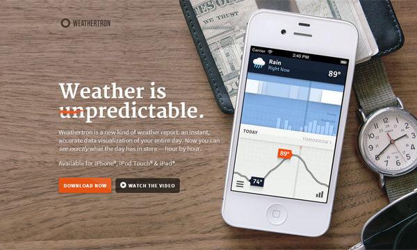 weathertron-app-landing-page